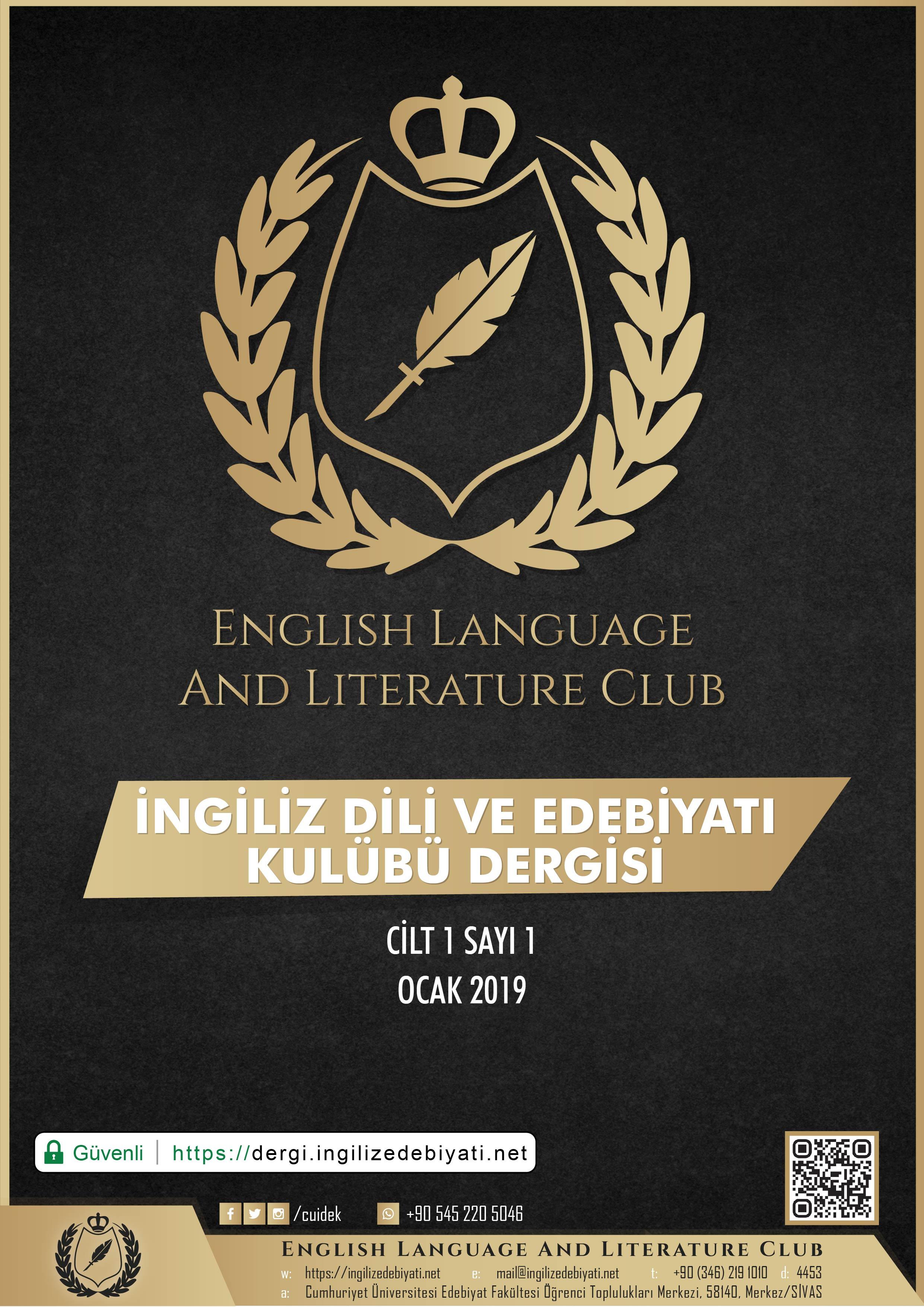 İngiliz Dili ve Edebiyatı Kulübü Dergisi